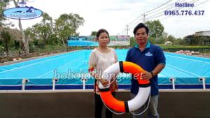 Thi công hồ bơi di động tại Đồng Tháp