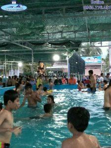 kinh doanh hồ bơi di động